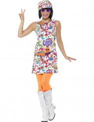 Kostume cool hippie 60´erne