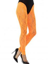 Leggings selvlysende orange blonde