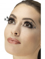 Falske sorte sommerfugle øjenvipper - voksen