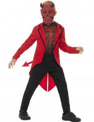 Kostume djævle Dia de los Muertos til børn