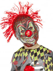 Skræmmende klovnemaske til børn - Halloween