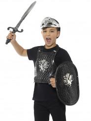 Ridder sæt sort luksus til børn