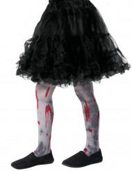 Strømpebukser zombie til børn