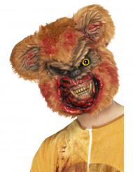 Zombie bamse maske til Halloween