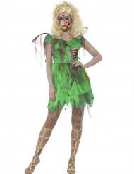 Kostume zombie fe Halloween
