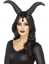 Onde dronninge horn til Halloween