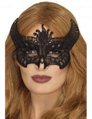 Djævle blonde maske til kvinder