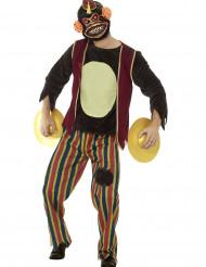 Kostume legetøjsabe med bækkener til voksne