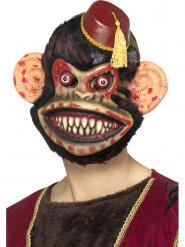 Legetøjsabe Halloween maske til voksne