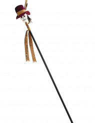 Dødningestav vaudou 120 cm