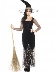 Kostume heks måne og stjerner til Halloween