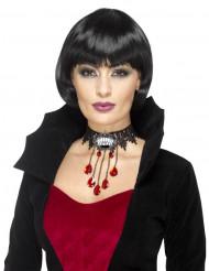 Gotisk vampyr halskæde til kvinder - Halloween