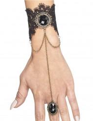 Armbånd med ring gotisk til voksne