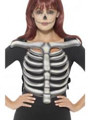 Brystkasse skelet til voksne Halloween