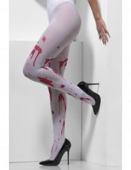 Blodige strømpebukser til Halloween