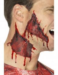 Halloween klistermærke - Hud revet itu