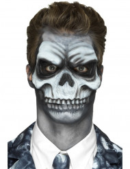 Skeletprotese i latex mousse - Halloween