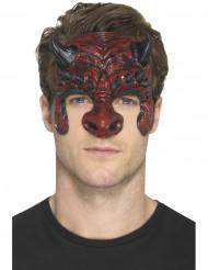 Djævle protese til voksne - Halloween maske