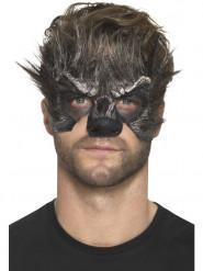 Varulve halvmaske til voksne - Halloween
