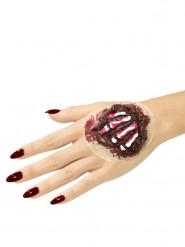 Latex Knogler på Hånden Halloween til voksne