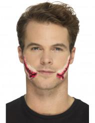 Falsk sår til ansigtet - Halloween