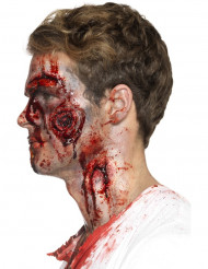 Falsk sår - Halloween sminke til voksne