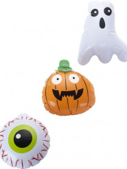 3 Halloween-balloner 15 cm