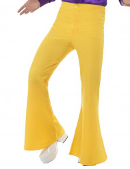 Bukser disco gule til mænd