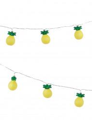 Lysguirlande ananas 2,10 m.