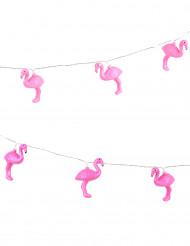 Guirlande lysende flamingo
