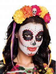 Dia de los Muertos blonster hårbøjle