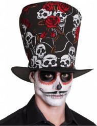 Dia de los Muertos højhat til voksne