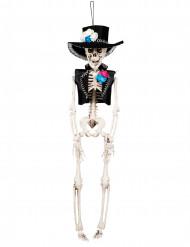 Dekoration skelet brudgom 40 cm Dia de los muertos