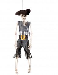 Hængende skeletpirat 40 cm
