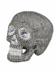 Dekoration skelet i simili 19x15 cm Halloween