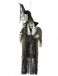 Dekoration hængende heks 190 cm Halloween