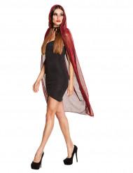 Kappe med hætte 140 cm Halloween