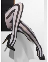 Strømpebukser sort og hvide til kvinder