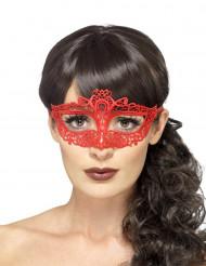 Maske rød blonde