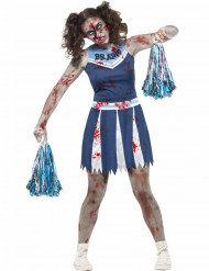 Kostume cheerleader zombie teenager Halloween