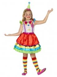 Kostume klovn i kjole til piger