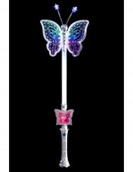 Tryllestav magisk lysende sommerfugl 40 cm