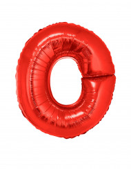 Ballon aluminium gigant bogstav O 1 m