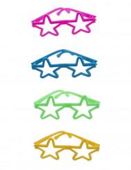 4 mini stjerne briller
