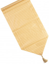 Bordløber i falsk bambus 150x28 cm