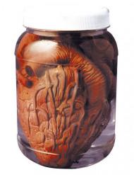 Glas med hjerte Halloween 14 cm