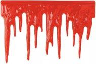 Dekoration væg blodspor Halloween
