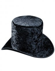 Tophat sort velour