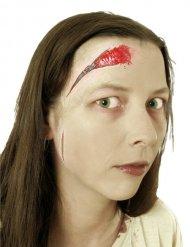 Falsk sår med lynlås