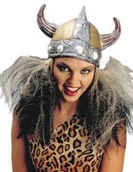 Vikingehjelm til kvinder med hår